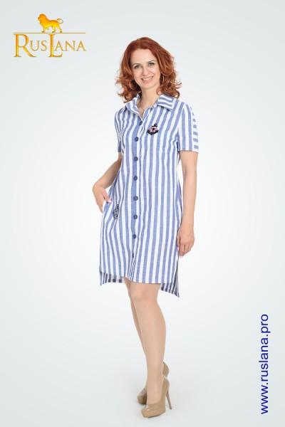 Платье-рубашка №3